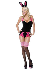 Anime Costumes AF-S2-377361 Halloween Cute Black Polyester Sexy Bunny Costume For Women