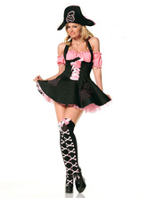 Anime Costumes AF-S2-365909 Pirate Women's Halloween Costume