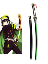 Anime Costumes AF-S2-562137 Seraph of the End Yuichiro Hyakuya Demon Weapon Asuramaru Wooden Sword Anime Cosplay Weapon