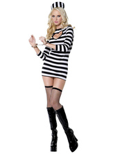 Anime Costumes AF-S2-377403 Halloween Stylish Multi Color Polyester Sexy Costume For Women