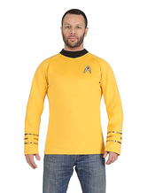 Anime Costumes AF-S2-630955 Star Trek James T Kirk 2017 Film Cosplay Costume Long Sleeve T Shirt