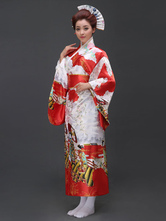 Anime Costumes AF-S2-509917 Red Women's Japanese Kimono Costume