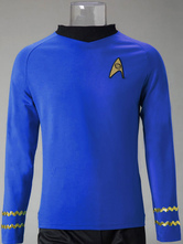 Anime Costumes AF-S2-630951 Star Trek Spock Cosplay Costume Long Sleeve T Shirt