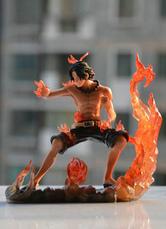 Anime Costumes AF-S2-594011 One Piece Ace PVC Figure