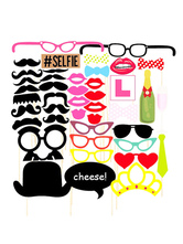 Anime Costumes AF-S2-660583 Party Photo Props Multicolor Selfie Photo Booth