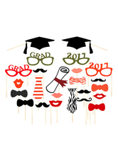 Anime Costumes AF-S2-660585 Graduation Photo Props Multicolor Academic Party Photo Booth Props