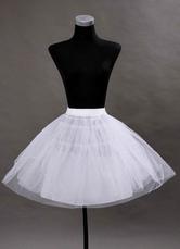 Kurze Hochzeit Petticoats schwarz Taft eine Zeile ohne Knochen zwei Tier Braut Petticoats