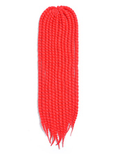 Anime Costumes AF-S2-669829 Braid Hair Extensions Red Crochet Havana Mambo African American Braiding Hair