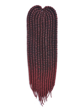 Anime Costumes AF-S2-667765 Burgundy Braid Hair Havana Mambo Rope Twist African American Ombre Braiding Hair Extensions