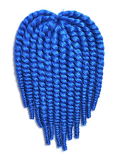 Anime Costumes AF-S2-667783 Crochet Braid Hair Blue Rope Twist Havana Mambo Africa American Hair Extensions