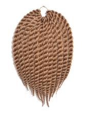 AF-S2-667785 Crochet Braid Hair Rope Twist Brown Havana Mambo African American Hair Extensions