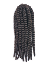 Anime Costumes AF-S2-667789 Rope Twist Braid Black Havana Mambo African American Crochet Braid Hair Extensions