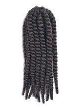 AF-S2-667789 Rope Twist Braid Black Havana Mambo African American Crochet Braid Hair Extensions