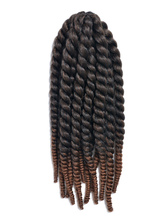 Anime Costumes AF-S2-667777 Crochet Braid Hair Tan Ombre Rope Twist Havana Mambo Africa American Hair Extensions