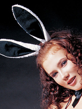 Anime Costumes AF-S2-667749 Sexy Bunny Costume Black Wool Bunny Ear Headpiece For Women