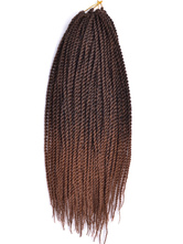 AF-S2-670573 African American Wigs Long Tan Crimped Curls Manbo Style Wig