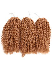 AF-S2-670581 Crochet Braid Hair Rope Twist Havana Mambo African American Tousled Tan Hair Extensions