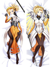 Anime Costumes AF-S2-666731 Overwatch Ow Mercy Anime Sexy Kawaii Pillowcase 160cmX50cm