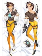 Anime Costumes AF-S2-666745 Overwatch Ow Tracer Sexy Game Pillowcase 160cmX50cm