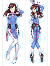 Anime Costumes AF-S2-666743 Overwatch Ow D.va Kawaii Sexy Game Pillowcase 160cmX50cm