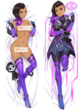Anime Costumes AF-S2-666739 Overwatch Ow Widowmaker Kawaii Sexy Pillowcase160cmX50cm
