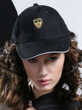 Anime Costumes AF-S2-669921 Sexy Cop Costume Black Canvas Cap For Women