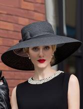 Cosplay Chapeau chapeau noir en fibres naturelles organiques de film chapeau de Carnaval  Halloween