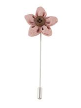 Women's Apricot Brooches Flower Shape Brooch Jewelry