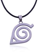 Silver Pendant Necklace Naruto Inspired Neenya Ninja Symbolic Alloy Necklace
