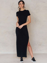 Vestidos negros largos informales