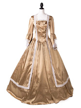 Carnevale Costumi Retro per Donne Stile di Epoca Vittoriana ori maniche lunghe Halloween