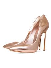 Zapatos de novia Zapatos de tacón alto de tacón de stiletto de puntera puntiaguada sintéticos estilo moderno