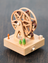 Valentines 2018 Gift Personalized Romantic Skywheel Wooden Musical Box Christmas Present For Friend