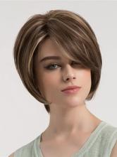 Прямые короткие парики с подсветкой Boytcuts Layered Tan Wig