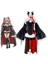 Anime Costumes AF-S2-534289 Seraph of the End Vampire Krul Tepes Black Lolita Dress Cosplay Costume