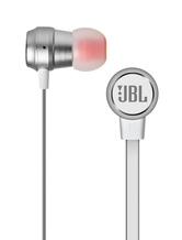 JBL Earbud Headphone T280A%2B 1.1m Tangle Free Flat Cord PureBass One Button Stereo Earphone With Mic