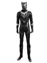 Мстители Черная пантера Хэллоуин косплей костюм Marvel комикс косплей костюм Хэллоуин