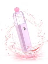 Nano Facial Steamer Portable USB Charging Ionic Facial Mist Sprayer Pink Beauty Care Moisturizer
