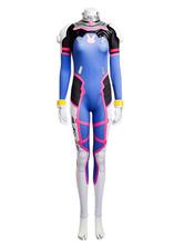 D.VA Overwatch OW Hana Song Cosplay Costume Cosplay Jumpsuit