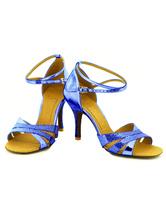 Danza negra Open Toe correa ajustable personalizado de Femenil salón zapatos KdSHv