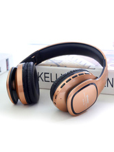 Gold Wireless Headset Caldecott FM Stereo Sound Bluetooth Headphone Sports Gaming Headset