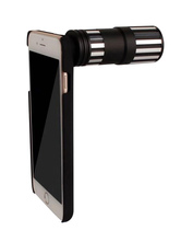 Mobile Telephoto Lens 12x Long Distance Telephone Lens For Cell Phone With Clip
