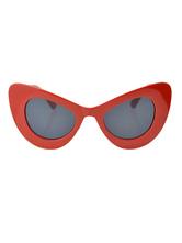 Óculos feminina 2020 para saída à Noite semi-transparente Lente Colorido Óculos Aro fechada