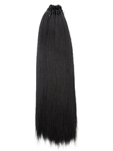 Women Synthetic Wigs Black Hair Extension Straight Straight Braids