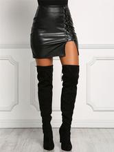 Falda Bodycon Skirt de mujer como Mini falda de encaje