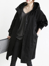 Women Trench Coat Hooded Coat Oversized Fall Coat