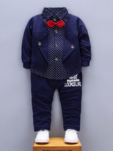 Ragazzi Outfit Blue Top e pantaloni 2 pezzi Kids Formal Wear