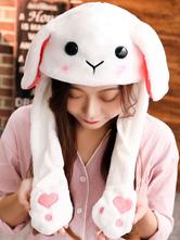 Lolita doce chapéu orelha de coelho Lolita fofo orelha de balão