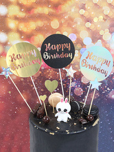 Cake Toppers Baby Kids Happy Birthday Party Decorations Halloween