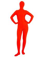 Disfraz Halloween Halloween Rojo Lycra Spandex Zentai Halloween Carnaval Halloween